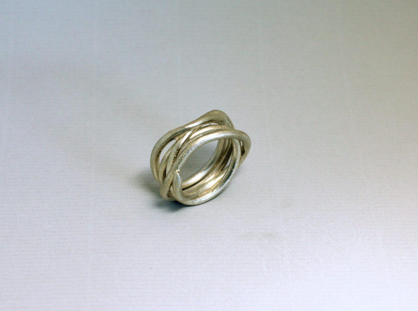 Gewickeltes Silber
