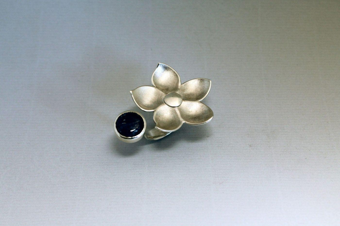 Zweifinger Ring