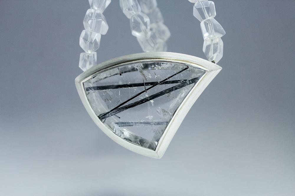 Rutilquarz Bergkristall Kette